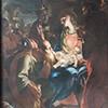 Sant'Andera al Quirinale, Kaplica Matki Boskiej, Adoracja Madonny przez Trzech Króli, Antonio David