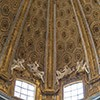Church of Sant'Andrea al Quirinale, cornice decorations, Antonio Raggi