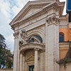 Sant'Andrea al Quirinale, fasada kościoła, Gian Lorenzo Bernini