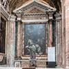 Sant'Andrea al Quirinale, kaplica Męki Pańskiej, Opłakiwanie, Giacinto Brandi