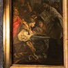 Sant'Andrea al Quirinale, kaplica św. Franciszka Ksawerego, Chrzest pogańskiej królowej, Baciccio