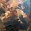 Sant'Andrea al Quirinale, kaplica św. Franciszka Ksawerego, Śmierć Franciszka Ksawerego, Baciccio