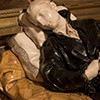 Church of Sant'Andrea al Quirinale, The Chapel of St. Stanislaus Kostka, statue of the saint, fragment, Pierre Legros
