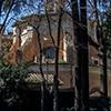 Sant'Andrea al Quirinale, kościół widziany od tyłu