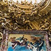 Church of Sant'Andrea al Quirinale, stucco decorations above the main altar - Antonio Raggi