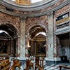 Sant'Andrea al Quirinale, widok jednego z ramion kościoła