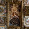 Sant'Andrea al Quirinale, zakrystia, Apoteoza św. Andrzeja, Jean de La Borde