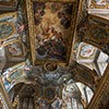 Church of Sant'Andrea al Quirinale, Sacristy, The Apotheosis of St. Andrew, Jean de La Borde