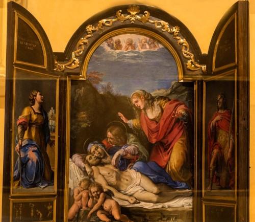 Annibale Carracci and workshop, altar for private adoration, Galleria Nazionale d'Arte Antica, Palazzo Barberini