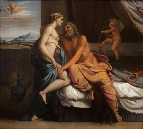Annibale Carracci, Juno and Jupiter, Galleria Borghese