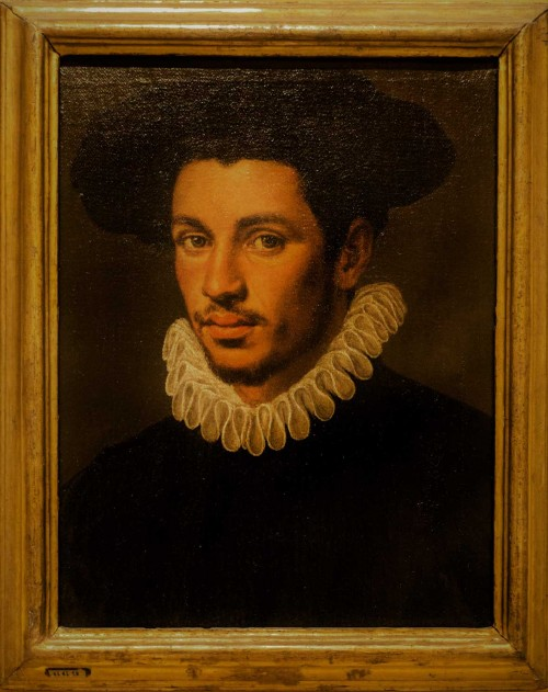 Annibale Carracci, Portret młodego mężczyzny, Galleria Nazionale d'Arte Antica, Palazzo Barberini