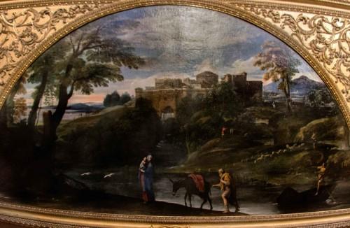 Annibale Carracci, Ucieczka do Egiptu, Galleria Doria Pamphilj