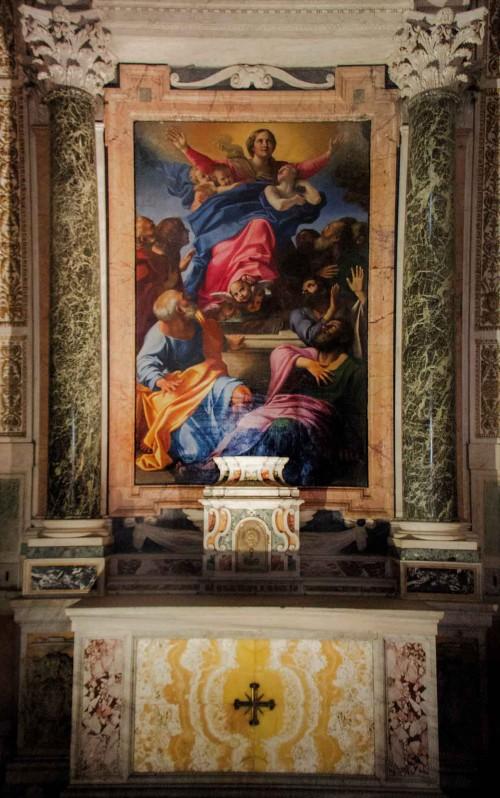 Annibale Carracci, Wniebowzięcie Marii, bazylika Santa Maria del Popolo