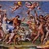 Annibale Carracci, fresco The Triumph of Bacchus and Ariadne, Palazzo Farnese, vault, central scene, pic. Wikipedia