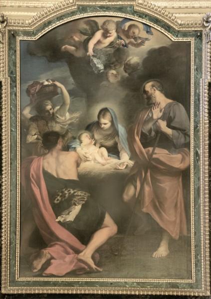 Carlo Maratti, Adoracja pasterzy, kościół San Giuseppe dei Falegnami