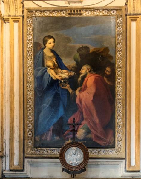 Carlo Maratti, Adoracja  Trzech Króli, bazylika San Marco