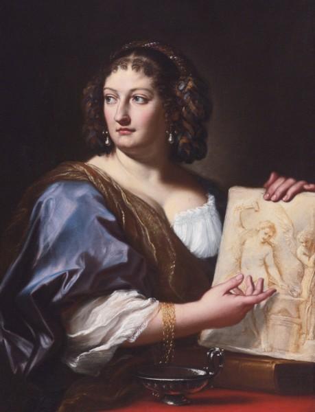 Carlo Maratti,  Francesca Gommi Maratti (druga żona artysty), zdj. Wikipedia
