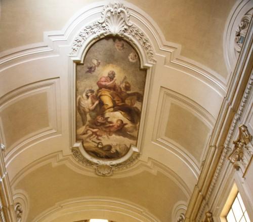 Carlo Maratti, Gloria św. Józefa, kościół Sant'Isidoro a Capo le Case