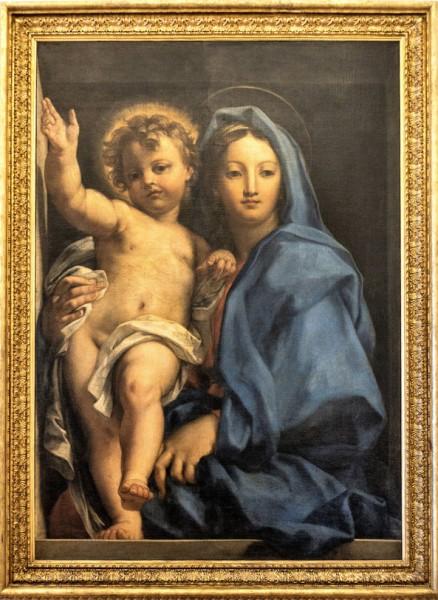 Carlo Maratti, Madonna with Child, Palazzo Quirinale