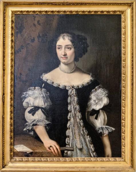 Carlo Maratti, Portret Marii Maddaleny Rospigliosi, Galleria Nazionale d'Arte Antica, Palazzo Barberini