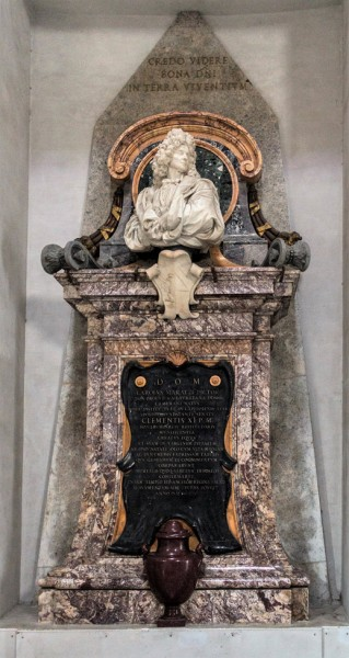 Funerary monument of Carlo Maratti, Basilica of Santa Maria degli Angeli