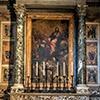 Carlo Maratti, Św. Piotr przedstawiający Marii świętych, bazylika Santa Maria sopra Minerva, kaplica Wszystkich Świętych