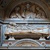 Main part of the tombstone of Pope Innocent III, Basilica of San Giovanni in Laterano