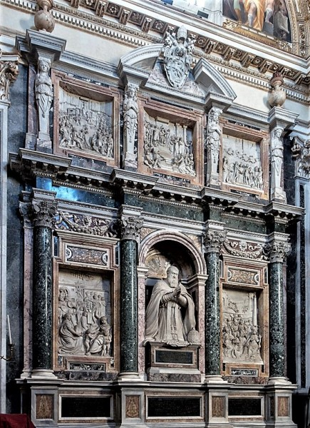 Sistine Chapel, Basilica of Santa Maria Maggiore, funerary monument of Pope Sixtus V