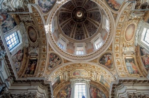 Kaplica Sykstyńska, bazylika Santa Maria Maggiore, sklepienie