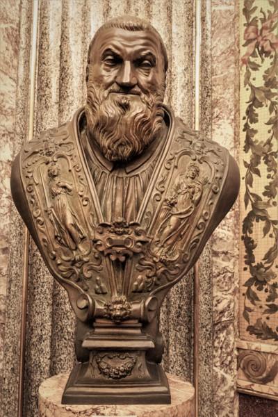 Sykstus V, popiersie, Musei Vaticani