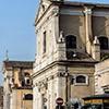 Church of San Girolamo dei Croati, Church of San Rocco in the background