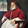Pope Sixtus V, portrait by P. Facchetti