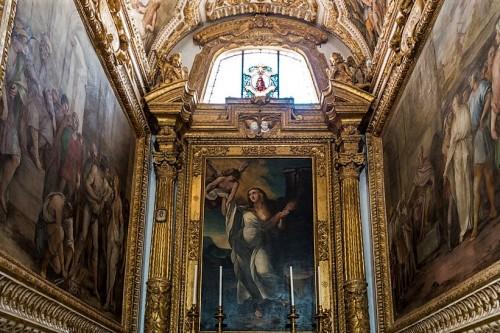 Church of Santi Cosma e Damiano, Chapel of St. Barbara