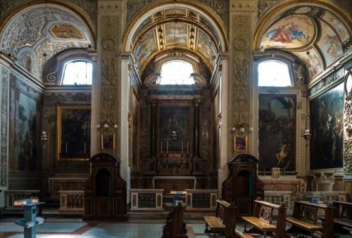 Santi Cosma e Damiano, kaplice św. Franciszka, św. Antoniego z Padwy i św. Jana Chrzciciela