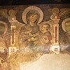 Fragment of frescoes from the XIII century, from the old church Santi Cosma e Damiano