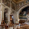 Santi Cosma e Damiano, Baroque interior of the church