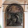 Santi Cosma e Damiano, jeden z fresków w krużgankach klasztornych