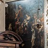 Santi Cosma e Damiano, kaplica św. Jana Chrzciciela, Adoracja Trzech Króli