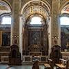Basilica of Santi Cosma e Damiano, chapels of St. Anthony of Padua and St. John the Baptist