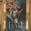 Santi Cosma e Damiano, ołtarz główny w kaplicy św. Barbary
