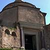 Temple of Jupiter Stator (Mausoleum of Romulus) – old enterance into the Church of Santi Cosma e Damiano