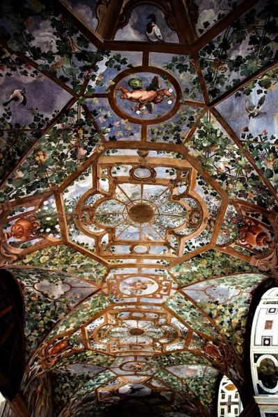 Palazzo Altemps, paintings on the ceiling of the piano nobile