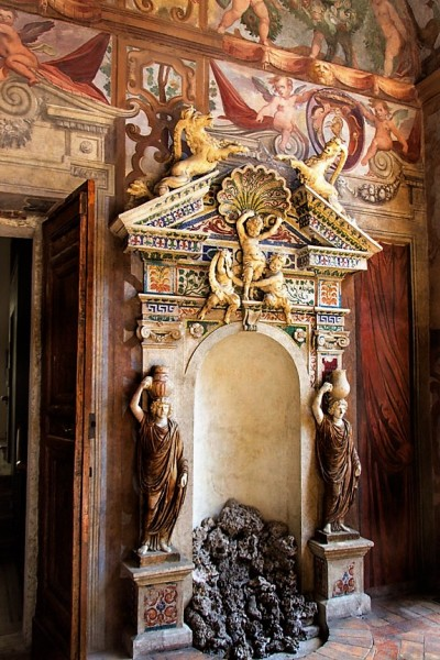 Palazzo Altemps, piano nobile, fontanna