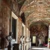 Palazzo Altemps, galeria popiersi cesarzy rzymskich - piano nobile