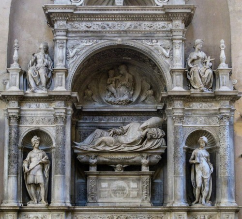 Andrea Sansovino, nagrobek kardynała Girolama Basso della Rovere, bazylika Santa Maria del Popolo