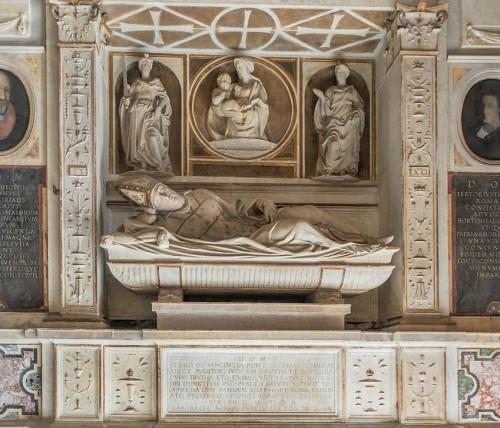 Andrea Sansovino, nagrobek kardynała Pietra da Vicenza, bazylika Santa Maria in Aracoeli