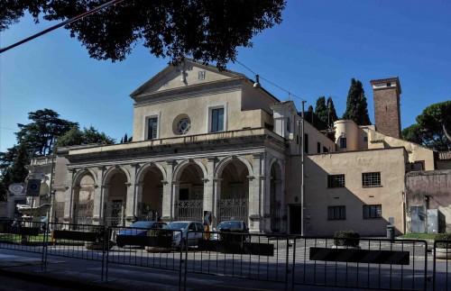 Andrea Sansovino, projekt renesansowej fasady bazyliki Santa Maria in Domnica