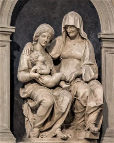 Andrea Sansovino, Święta Anna Samotrzeć, bazylika Sant'Agostino