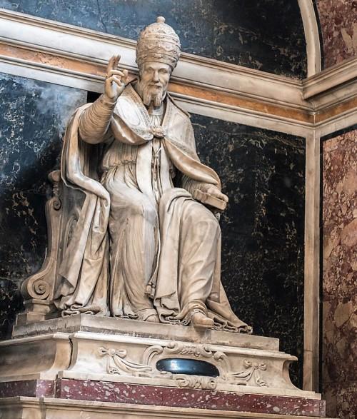 Kaplica Zwiastowania, pomnik nagrobny papieża Urbana VII, bazylika Santa Maria sopra Minerva