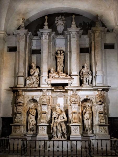 Michał Anioł, pomnik nagrobny papieża Juliusza II, bazylika San Pietro in Vincoli